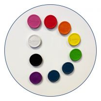 Detectable Whiteboard Magnets (Pack of 10)