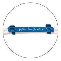Detectable Cable Identification Tags