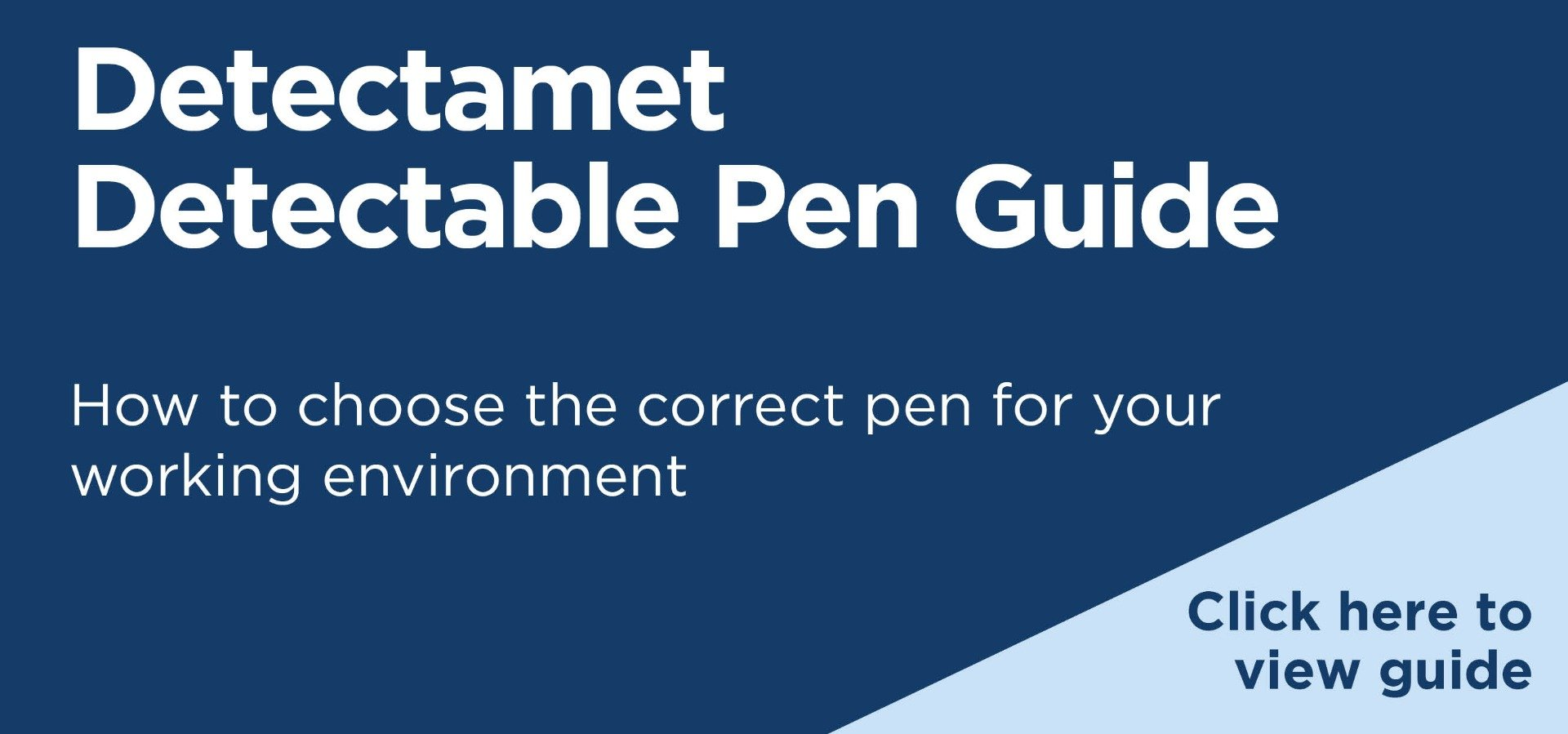 Detectamet Detectable Pen Guide